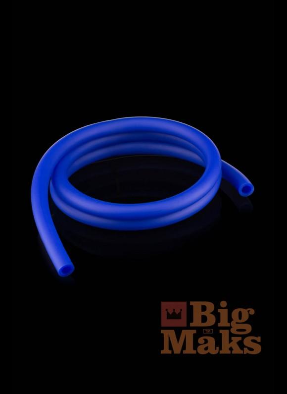 Шланг для кальяна матовый синий (бухта 150 метров)
