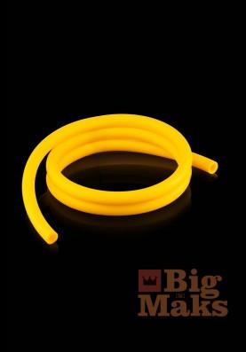 Шланг для кальяна матовый желтый (бухта 150 метров)