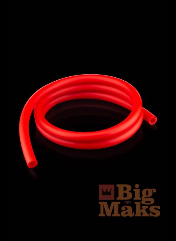 Шланг для кальяна матовый красный (бухта 150 метров)