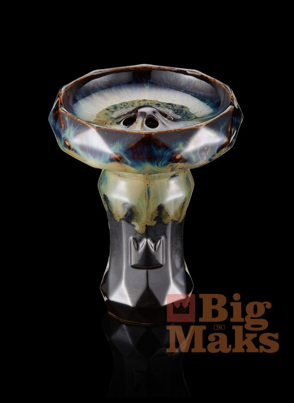"""Чаша BigMaks """"EDGE"""" двухцветная глазурь"""